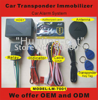 Cheap special offer RFID transponder immobiliser one way car alarm system