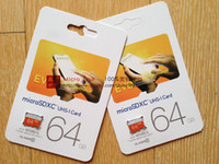 Wholesale 16GB GB GB GB Class10 UHS Micro SDHC TF Flash Memory Card for Samsung Galaxy Note S4 S5 HTC Phone Tablet PC MB s EVO