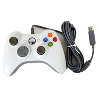 Wholesale USB Wired Game Controller Gamepad Joypad Joystick For Xbox Slim Accessory PC Computer controllers
