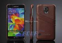 Étui de transport gratuit pour Samsung Galaxy S5 S6 S7 bord plus cuir véritable pour samsung note 5 4 Back Covers pour Samsung Galaxy