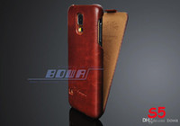 Wholesale Luxury Cover for Galaxy S5 PU Leather Flip Case For Samsung Galaxy S5 i9600 Vintage Stylish Phone Bag Black Brown White Pink