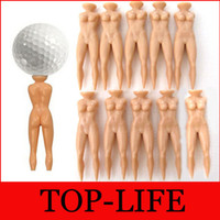 Wholesale Faddish Individual Golf Tees Multifunction Nude Lady Divot Tools Tee Golf Stand