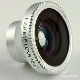 Wholesale-The camera lens for Ipad and Iphone and Samsung,Magent mount conversion fish eye lens for mobile phone and digital cameras