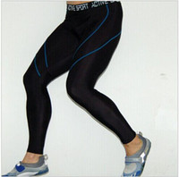 Wholesale Brand Genuine Sports Apparel Mens Compression Running Tights Fitness Yoga Leggings Pants High Quality