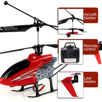 Cheap New 2.4GHz 4CH R C Remote Control RC 45CM LED Gyro Big Helicopter Gifts free shipping