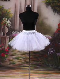 Wholesale Beautiful Cheaper High Quality Petticoats Sexy Short Wedding Dress Bridal Accessories White For Wedding New