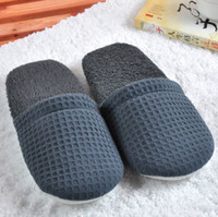 Wholesale Super Soft Slippers Hotel Spa Non disposable Waffle Colorful mm Thick Sole Casual Star Hotels Wedding Sample Room