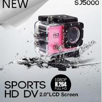 Wholesale 1080P Action Camera Sport inch SJ5000 inch SJ4000 Full HD DVR Diving Meter Waterproof Camera gopro Helmet Camera CAR DVR