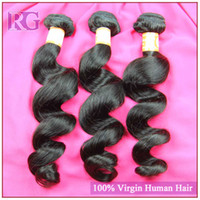 Wholesale Brazilian Virgin Hair Loose Wave Natural Color Grade A Unprocessed Hair Top Quality Human hair Extensions