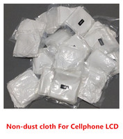 clothing cleaning - High Quality Clean Cloth Microfiber Strong Anti static dust Non dust clothes for Iphone samsung htc universal cellphone lcd