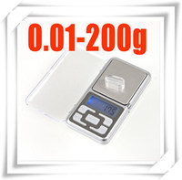 Cheap 50pcs 0.01 x 200g Gram Scale 4 weighing oz ct Electronic High Accuracy pocket Jewelry Digital Weighing free shipping