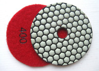 Wholesale 8 Complete Set Premium Quality inch DRY Diamond abrasive Pads mm Thick for marble granite and stone grinding
