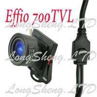 Cheap Mini HD 3.5-8mm Manual lens Sony Effio 700TVL Security Color CCTV camera