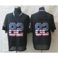 Wholesale New Arrival Cowboys Jason Witten Football Jerseys USA Flag Fashion Black Elite Jerseys Discount Football Uniform Mens Black Jerseys