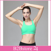 2014 New Yoga Sports Bra Fitness Running Bra Leisure Seamles...