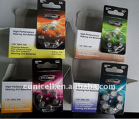 hearing aid batteries - each cards for items total cards A312 A13 A10 A675 hearing aid battery