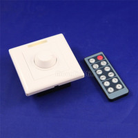 Wholesale New LED Light Lamp Dimmer Brightness Adjustable Control V W dimmer switch