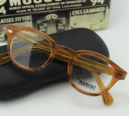 Wholesale Fashion Eyeglass Frame Blonde Color size M L