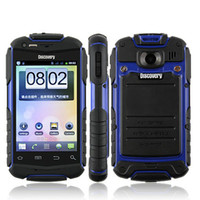 discovery v5 - Original Discovery V5 Android mobile phone Shockproof Dustproof inch Screen Dual SIM colors Rugged outdoor Unlocked cell phone