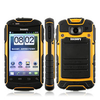 Wholesale Discovery V5 Android mobile phone Shockproof Dustproof smart cell phone inch screen Dual SIM Rugged Unlocked mobile phone colors