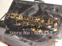 Wholesale New Arrival Black Nickel Selmer Tenor Saxophone Beauty Sax with case