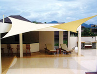 Wholesale 4 m Rectangle Waterproof shadecloth fabrics offer protection from both sun and rain