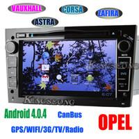7quot; Opel Vauxhall Astra Corsa Vectra Zafira Android 4.0.4 Reproductor de DVD de Coches GPS Navi Wifi 3G de Radio KS9681