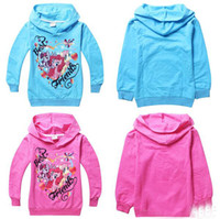Wholesale new Spring Autumn cartoon Pony Polly hoodies cotton long sleeved T shirt Sports sweaters