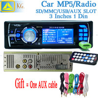 Cheap 2014 new 3.0 inch high-definition digital screen Car MP5 player dual video input Car mp3 player, Car mp4 player with FM radio
