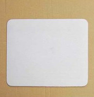 Wholesale DIY Blank Sublimation pads print and heat press Mouse mats