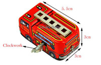 Cheap New Arrival 2014 80's Classic Toys Tin Fire Truck Winding-power For Collection Baby Developmental Toys 12436 b007