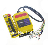 Cheap 3 Motions 1 Speed 1 Transmitter Control Hoist Crane Remote Controller System CE Proved
