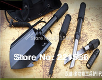 Wholesale High end multi purpose vehicle shovel spade tool multipurpose camping equipment supplies