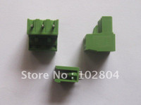 Wholesale 180 Per L Type Green way pin mm Screw Terminal Block Connector HOT Sale HIGN Quality