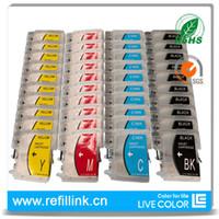 Wholesale 10 sets KCMY empty refillable ink cartridge for Brother LC38 LC980 LC39 DCP C C C C C C C CN CW J125
