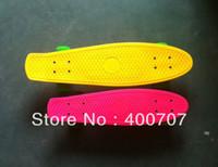 "Cheap free shipping 27"" 2013 Nickel board ,Mini Cruiser Penny Plastic Skateboard Wholesale Penny Skateboard 1pc"