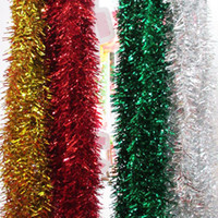 Wholesale meters christmas tree decoration strip decoration garland Christmas ribbon Christmas decoration