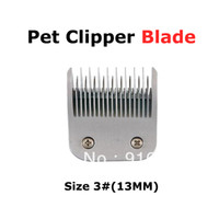 clipper blades - Electric pet clipper blade sirreepet high quality Stainless steel blade pet timmer clipper standard suit