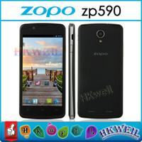 Original ZOPO ZP590 MTK6582 Quad Core Cell Phone 4. 5 Inch QH...