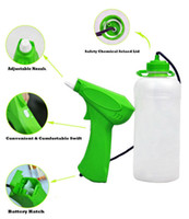 battery operated sprayers - Homate multi fuctional battery operated detergent trigger sprayer with L bottle for home and garden
