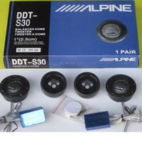 Wholesale Car Speaker Tweeter Alpine DDT S30 mm inch Silk Membrane Treble Speakers Car Audio Speakers