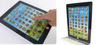 Hot venda Children ipad computador laptop brinquedos máquina de aprendizagem para crianças mesa de fazenda Máquina engraçado frete grátis EMS
