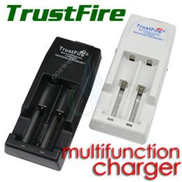 Mod baterías baratas en Línea-cargador de Confianza TR 001 incendios carga barata de Trustfire multifuncional recargable para mods 18650 10440 14500 10430 17670 18500 batería de ion-litio