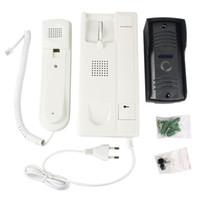 Wholesale New Audio door phone Intercom ZDL C Doorbell Set villa intercom access non visual intercom Unlock Only V F4201B