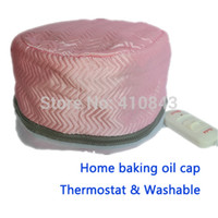 Wholesale washable home baking oil heatstyling tools the electric hair hat evaporation cap top fashion V Hair care