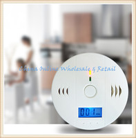 Wholesale Good quality Home Safety CO Gas Carbon Monoxide Alarm Detector CE Rohs EN50291 Approved with Retail Box