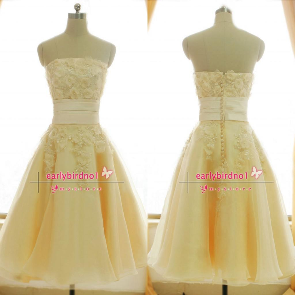 Light Yellow Prom Gowns And Dresses Red Prom Dresses