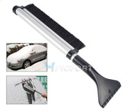 Cheap Free shipping & Tracking #New Vehicle car snow brush ice shovel scraper removal emergency spade auto clean tool-CA01615