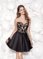 Cheap Drop Shipping Sexy Cocktail Short Mini Dress Clubwear Sweetheart With Lace Back Bow Design 2014 Cheap Vestido Hot Sale Free Shipping HD742
