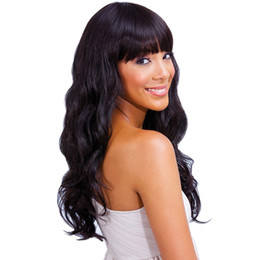 Indian virgin human hair wigs full lace wigs front lace human hair wigs 7A grade wavy 130%density natural hairline